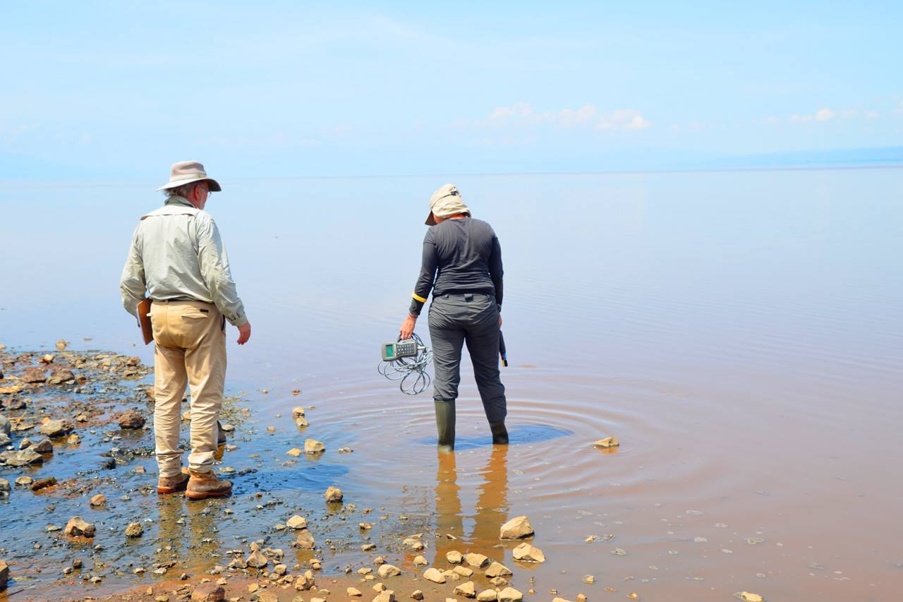 Sampling Lake Natron-9