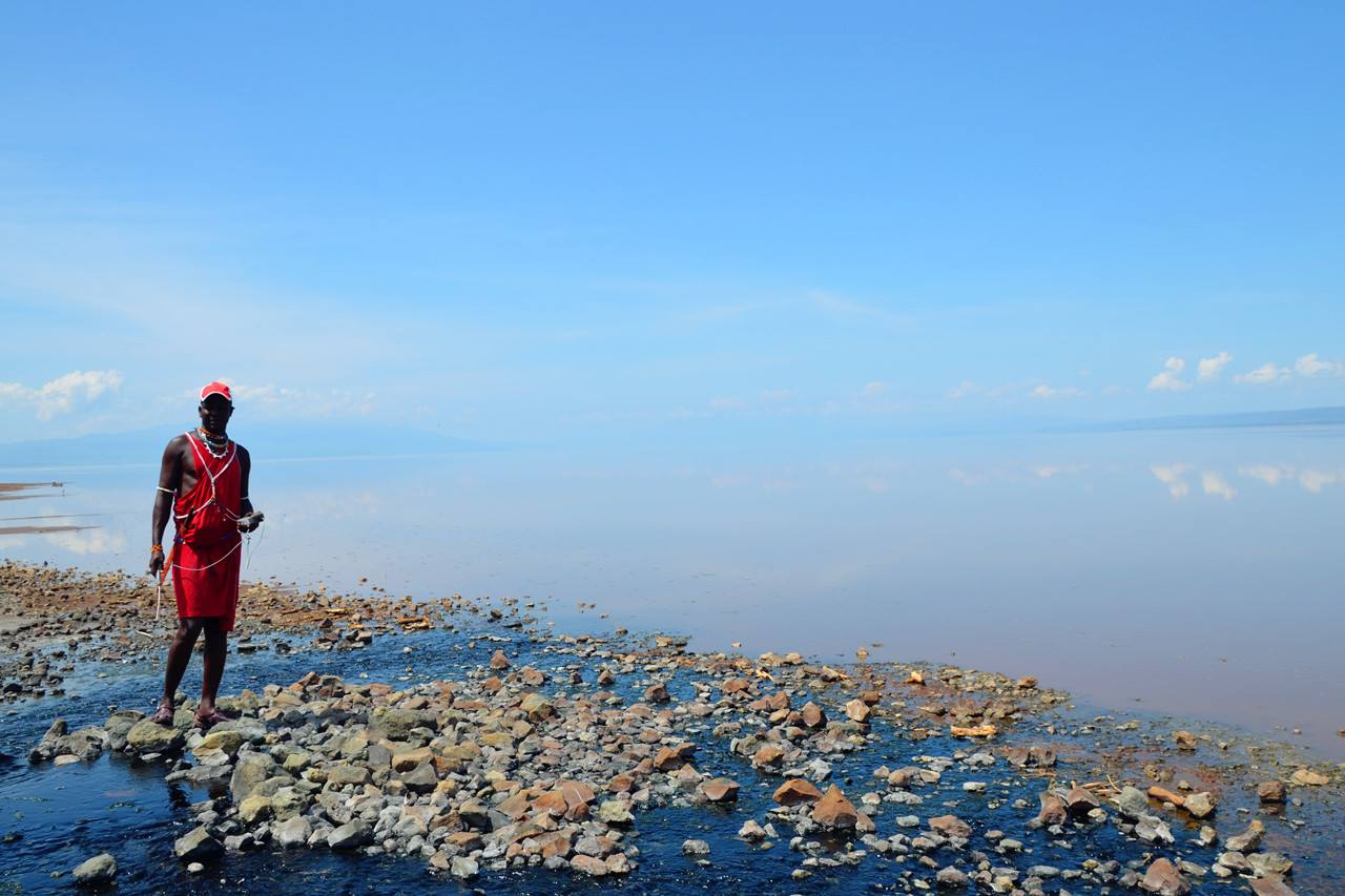Sampling Lake Natron-3