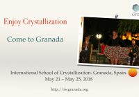International School of Crystallization (ISC2018)