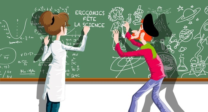 erccomics fête la science